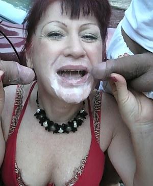 Free Moms Bukkake Porn Pictures